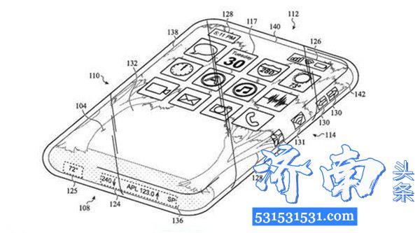 苹果公司全玻璃iPhone外壳专利被曝光出来