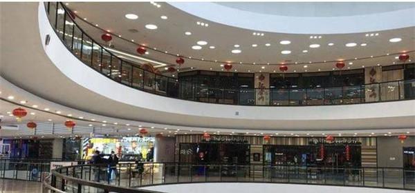 济南经四路万达广场、振华商厦等商场2月24日上午恢复营业